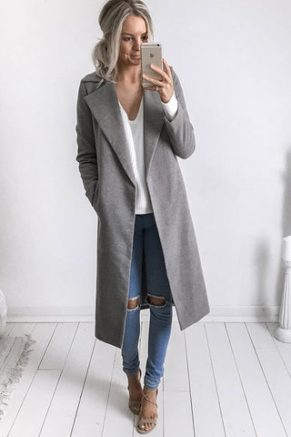 MOSCOW CROP COAT - KHAKI