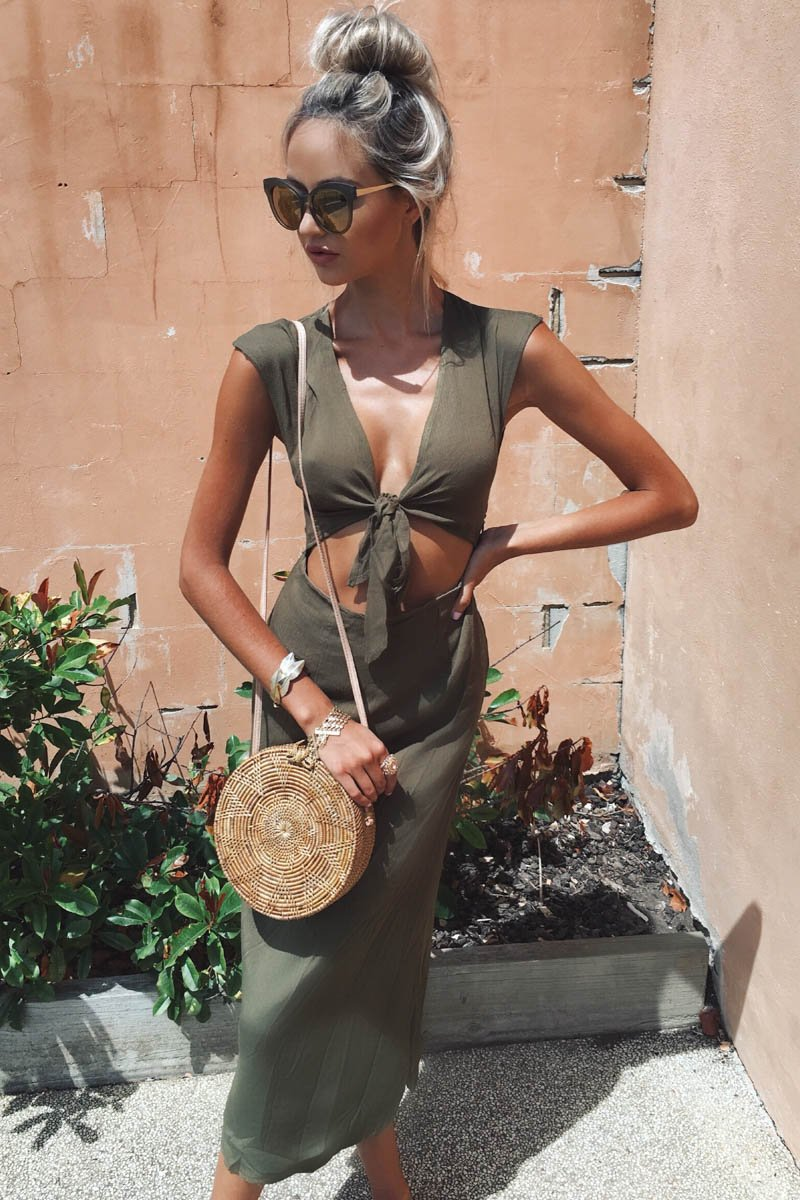 SORRELLI DRESS KHAKI