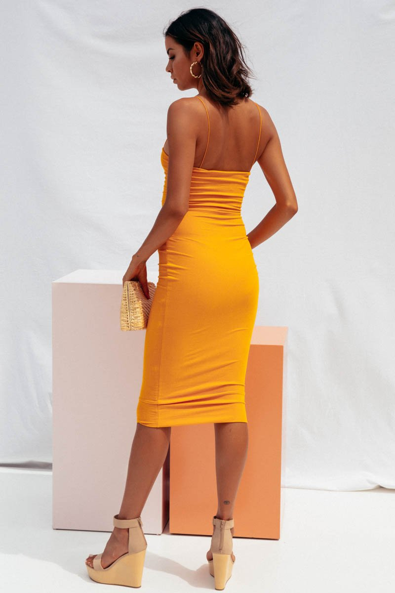 JOLIE MIDI DRESS - MANGO