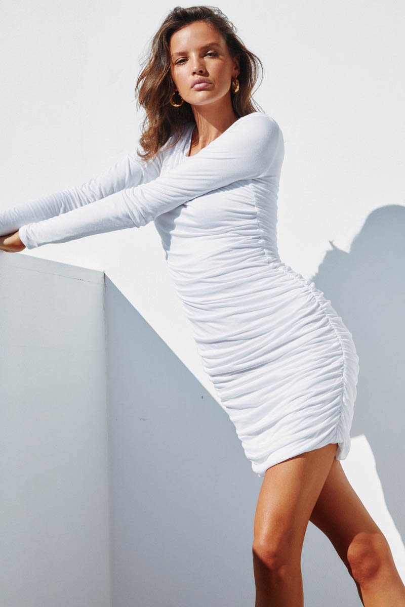 LILIYA DRESS - WHITE