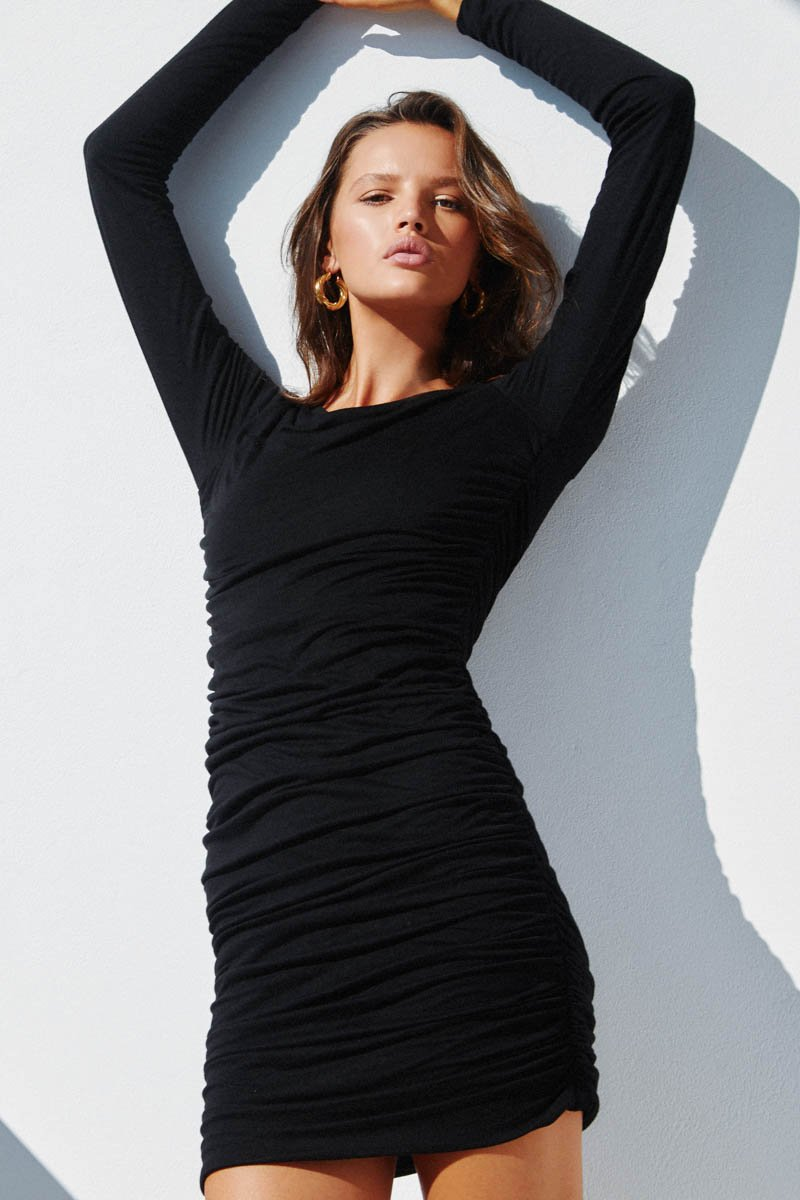 LILIYA DRESS - BLACK