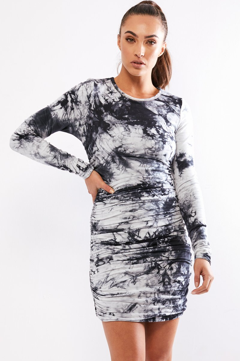 LILIYA DRESS - TIE DYE