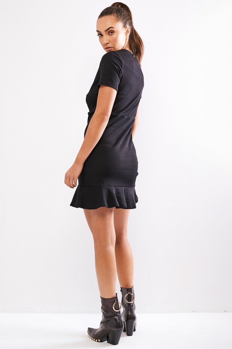 LIMITS DRESS - BLACK