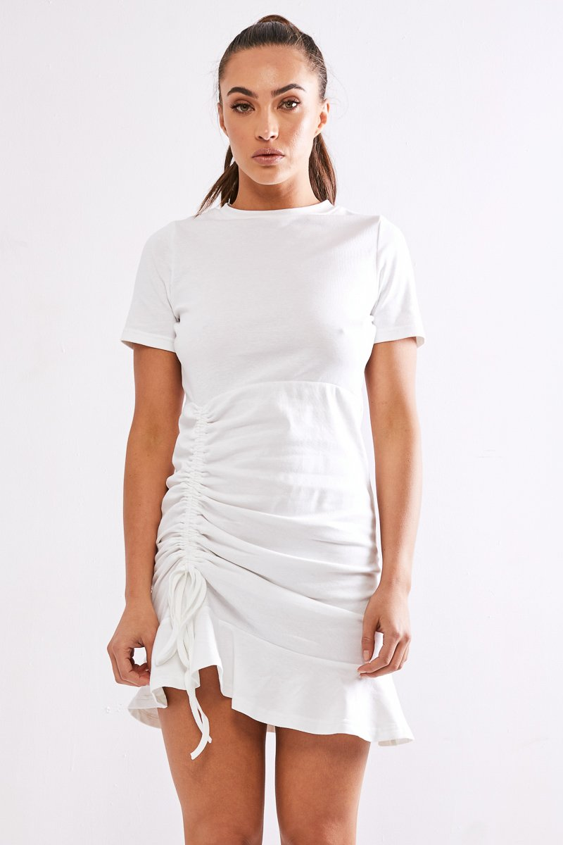 LIMITS DRESS - WHITE