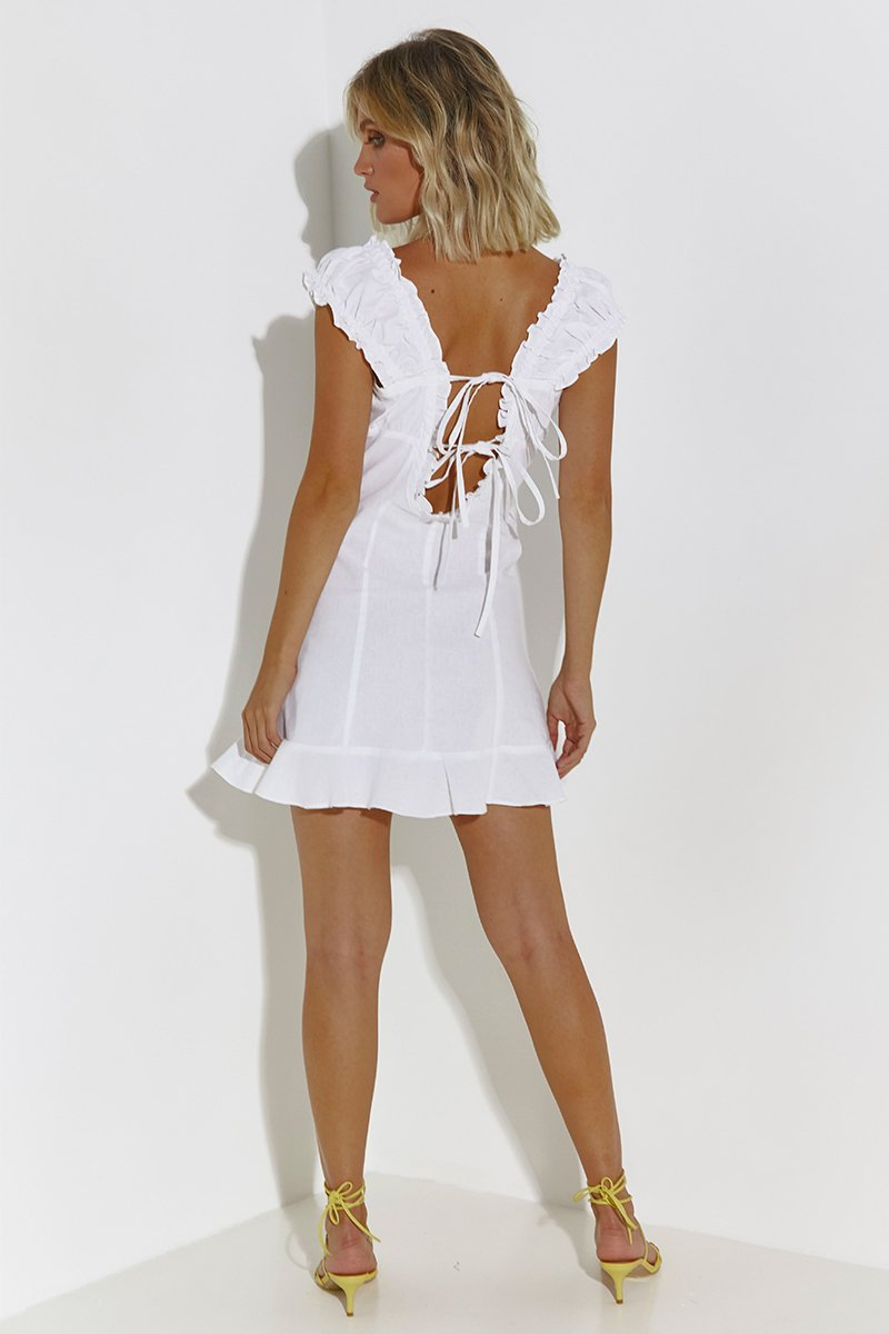 MARKET DRESS - WHITE