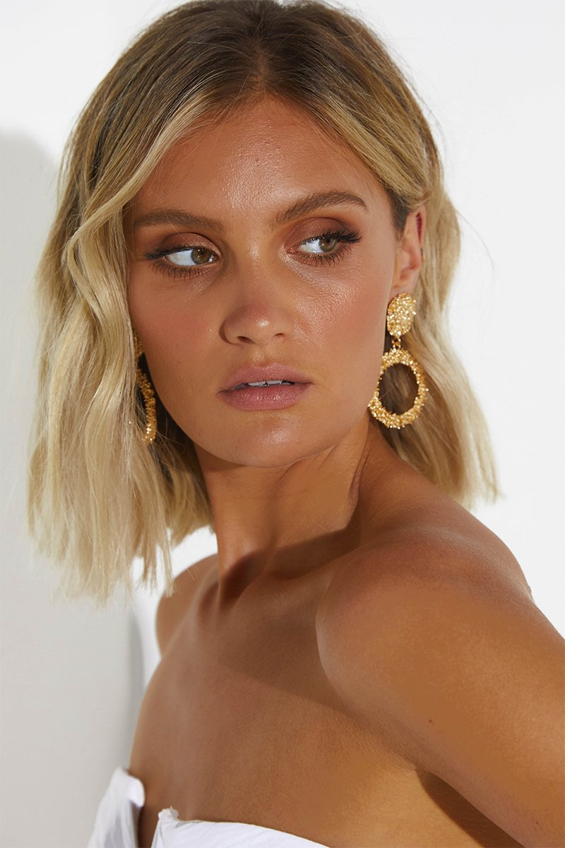 MIA EARRINGS - GOLD