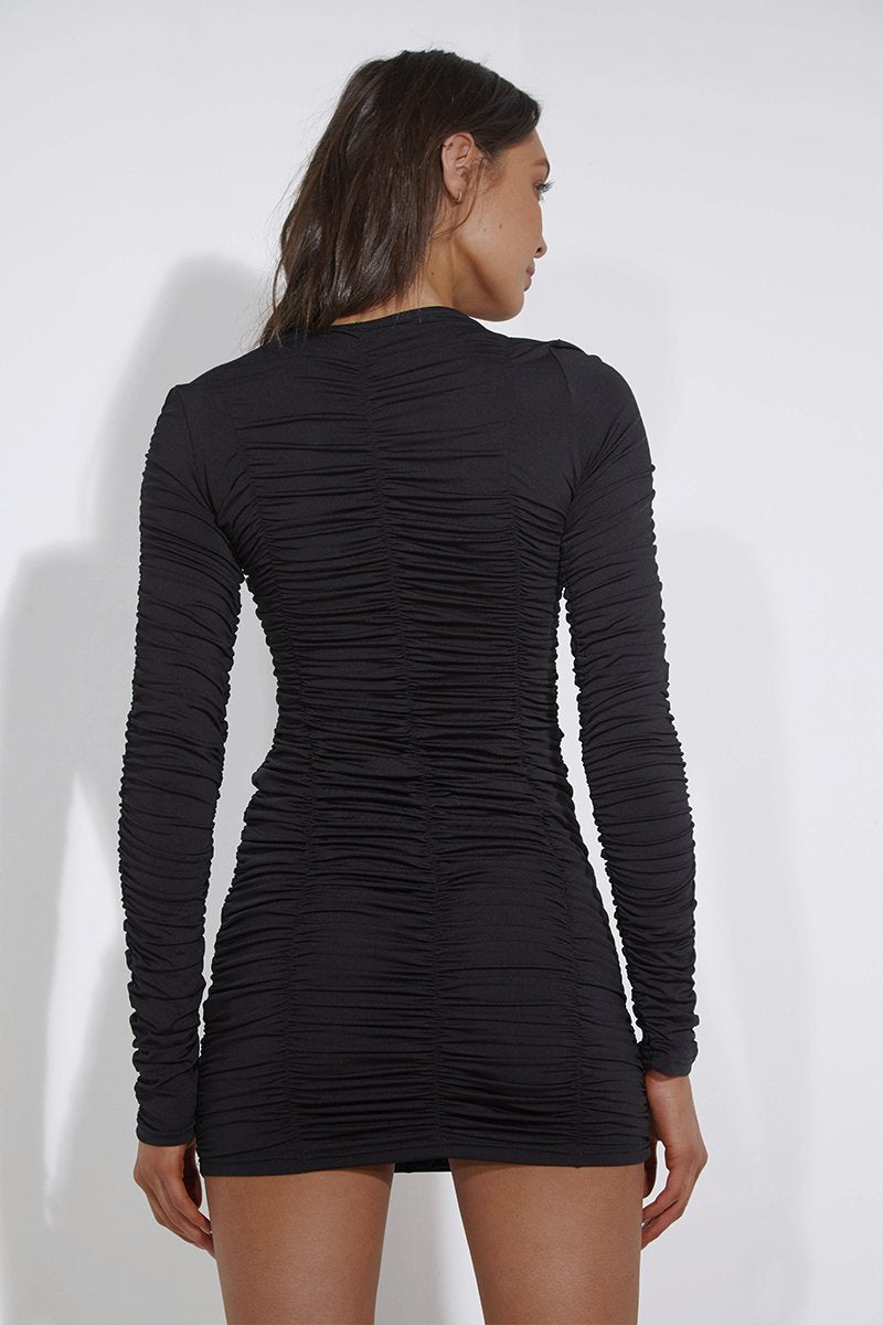 MUSE DRESS - BLACK