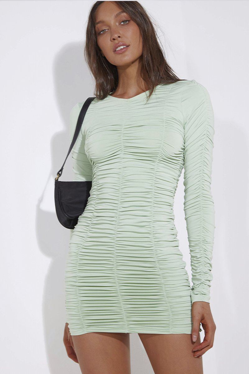 MUSE DRESS - MINT
