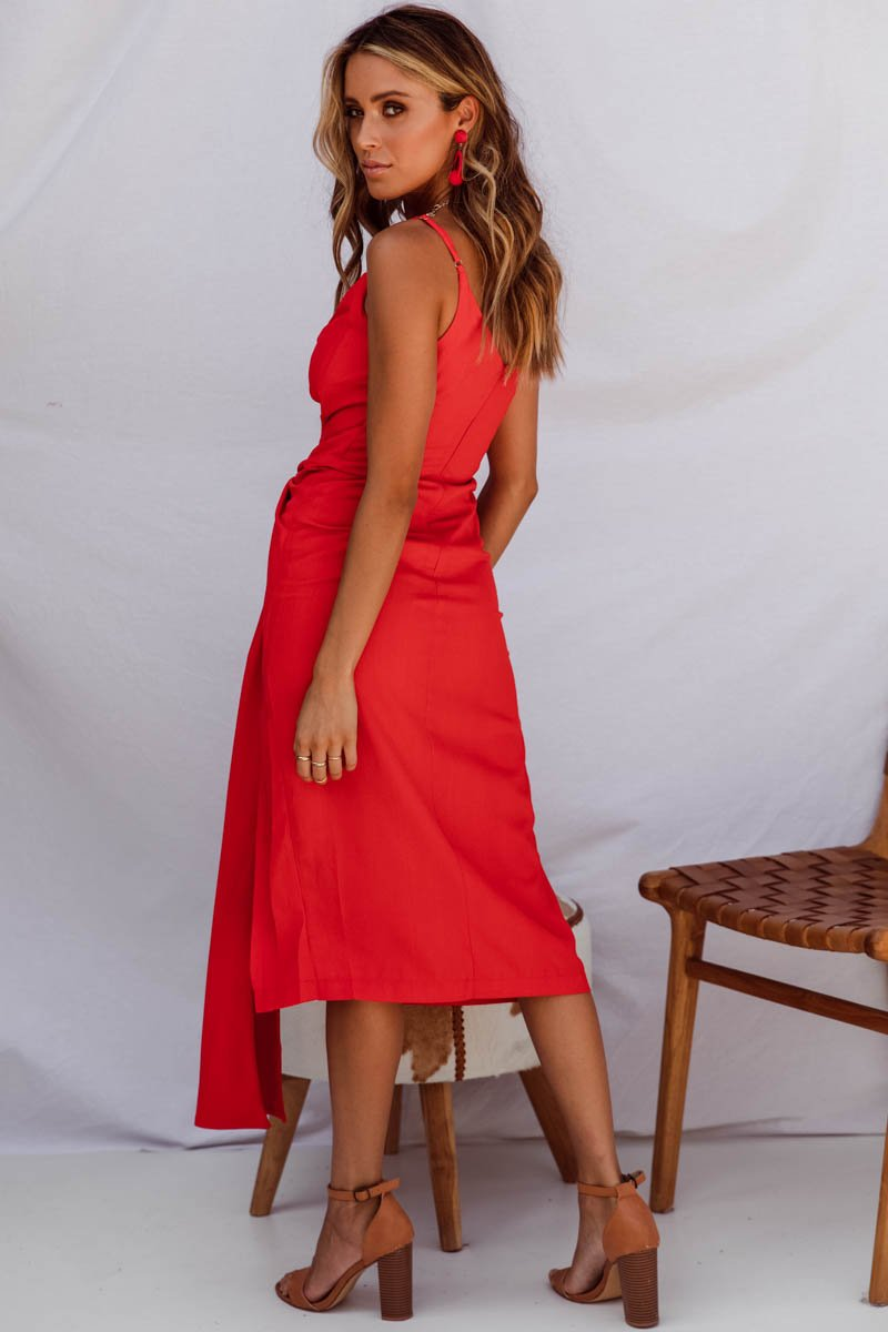 NEO DRESS - RED