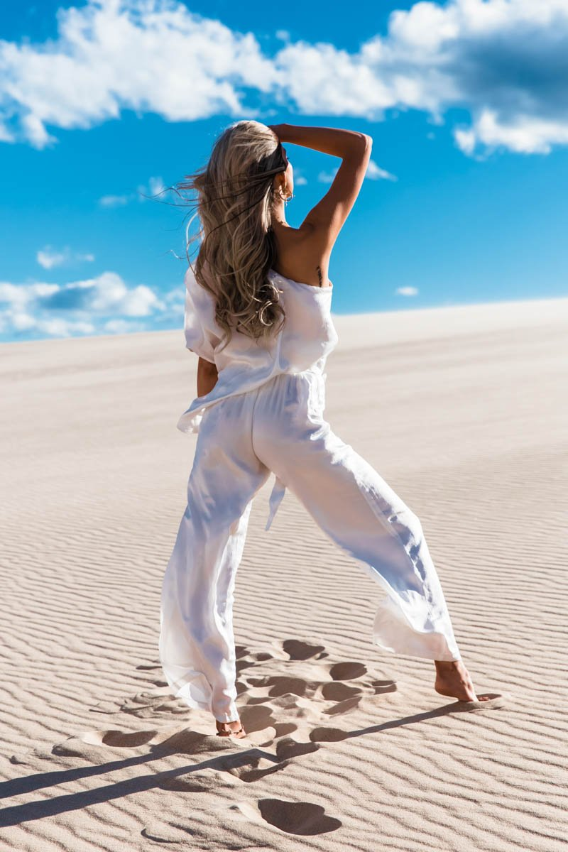 NEPTUNE JUMPSUIT - WHITE