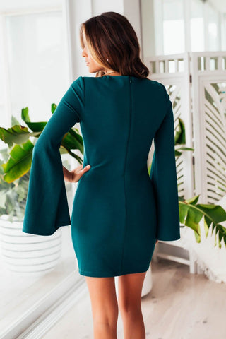 PASCAL MINI DRESS - GREEN