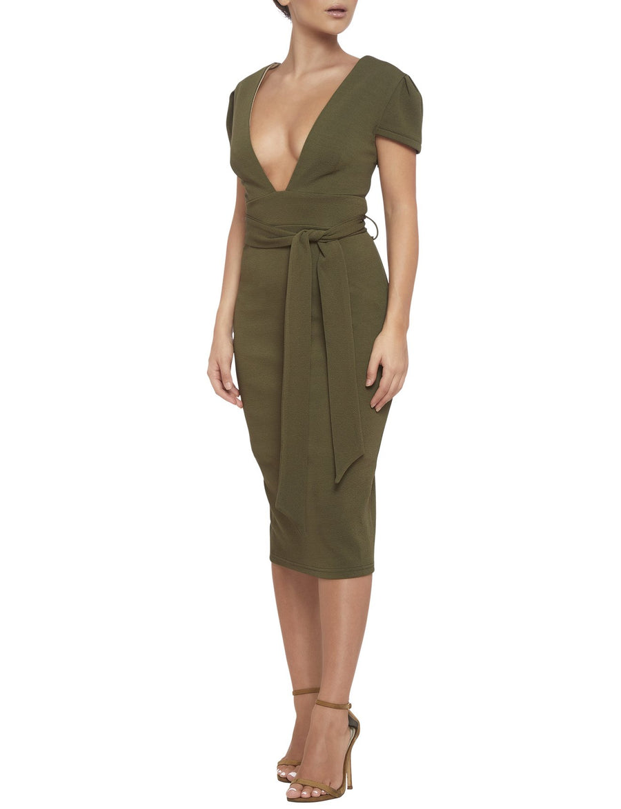 STELLA DRESS KHAKI
