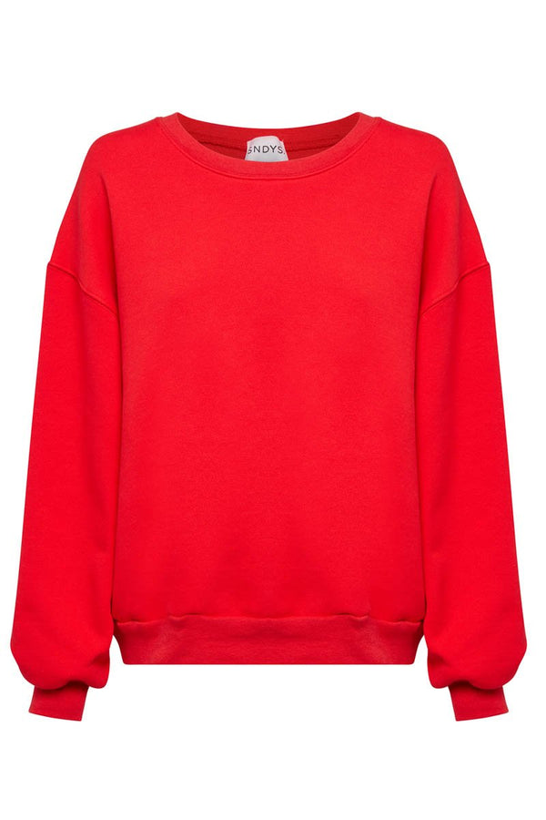 FLIX SWEATER - RED