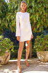PASCAL MINI DRESS - WHITE
