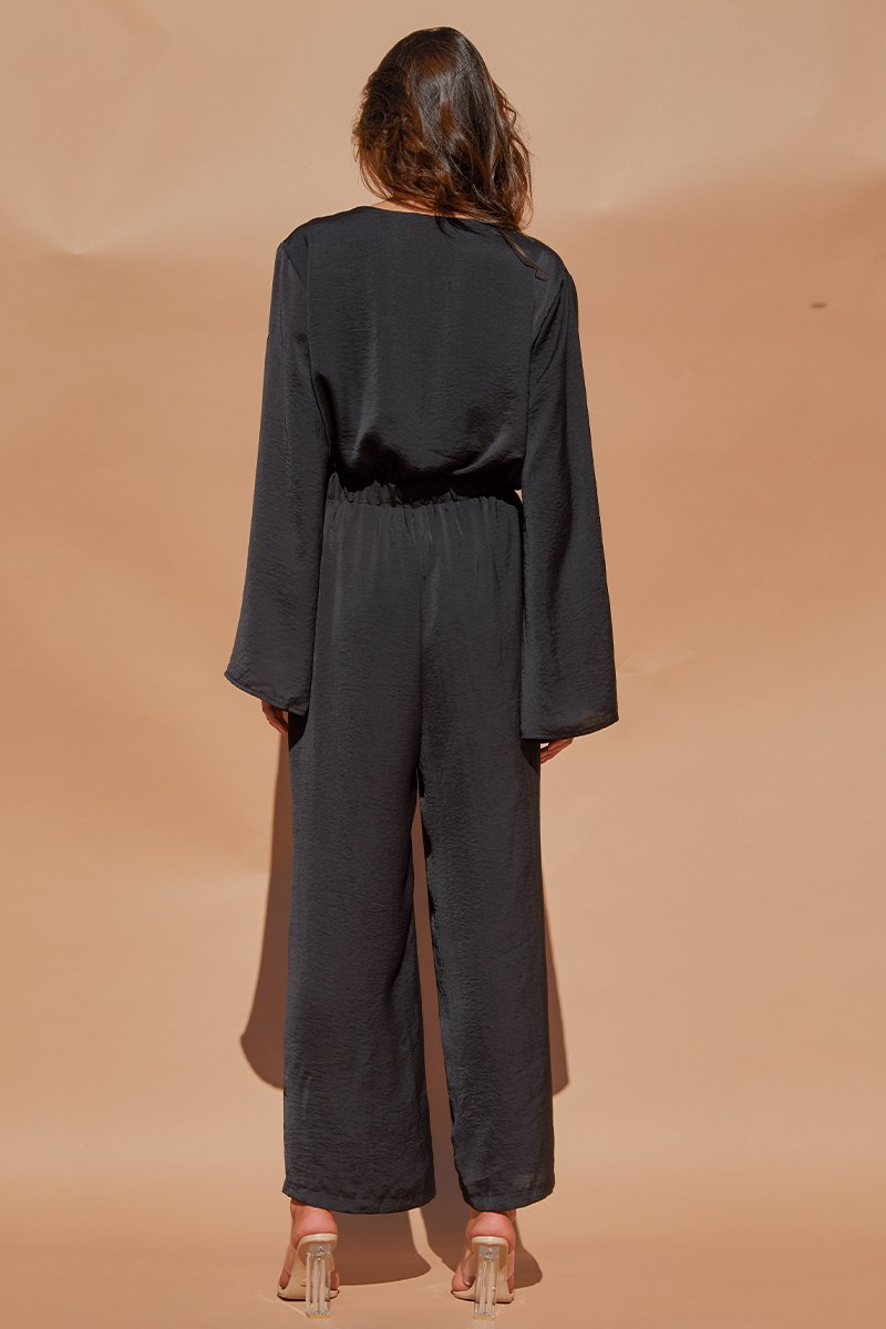 PLUTO JUMPSUIT - BLACK