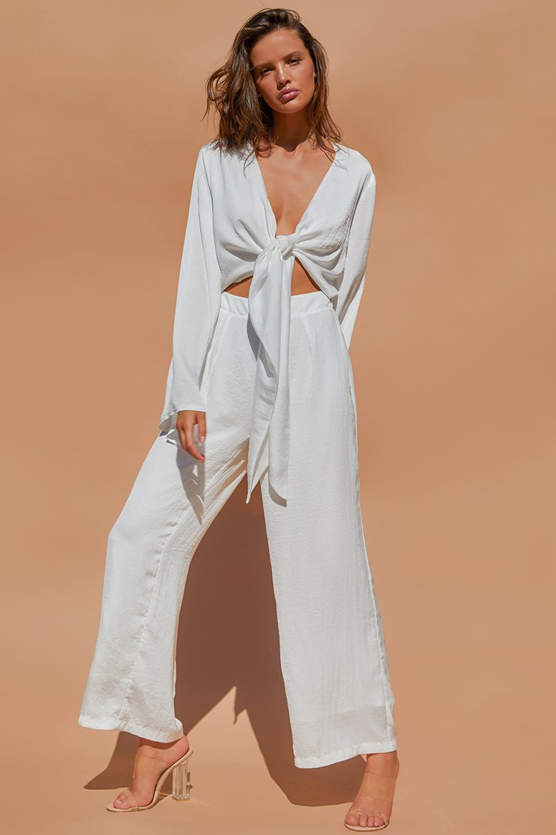 PLUTO JUMPSUIT - WHITE