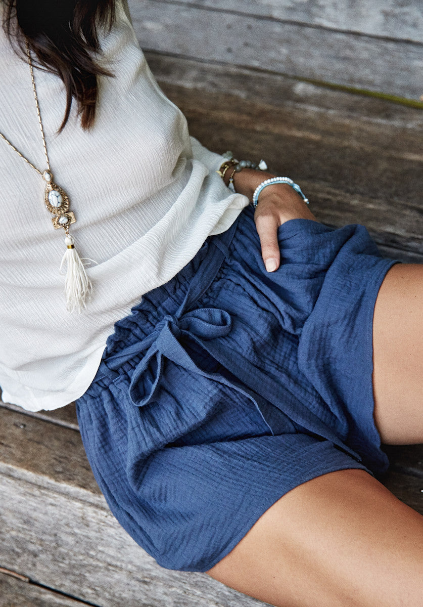 RIVER SHORTS NAVY