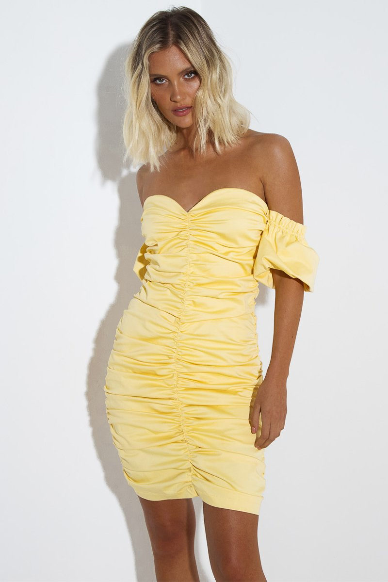RAYMOND DRESS - LEMON