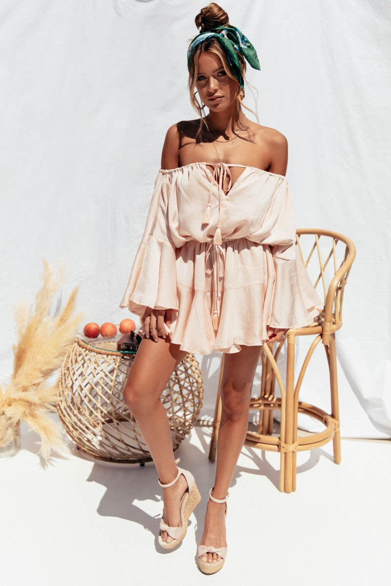 ROAM PLAYSUIT - NUDE