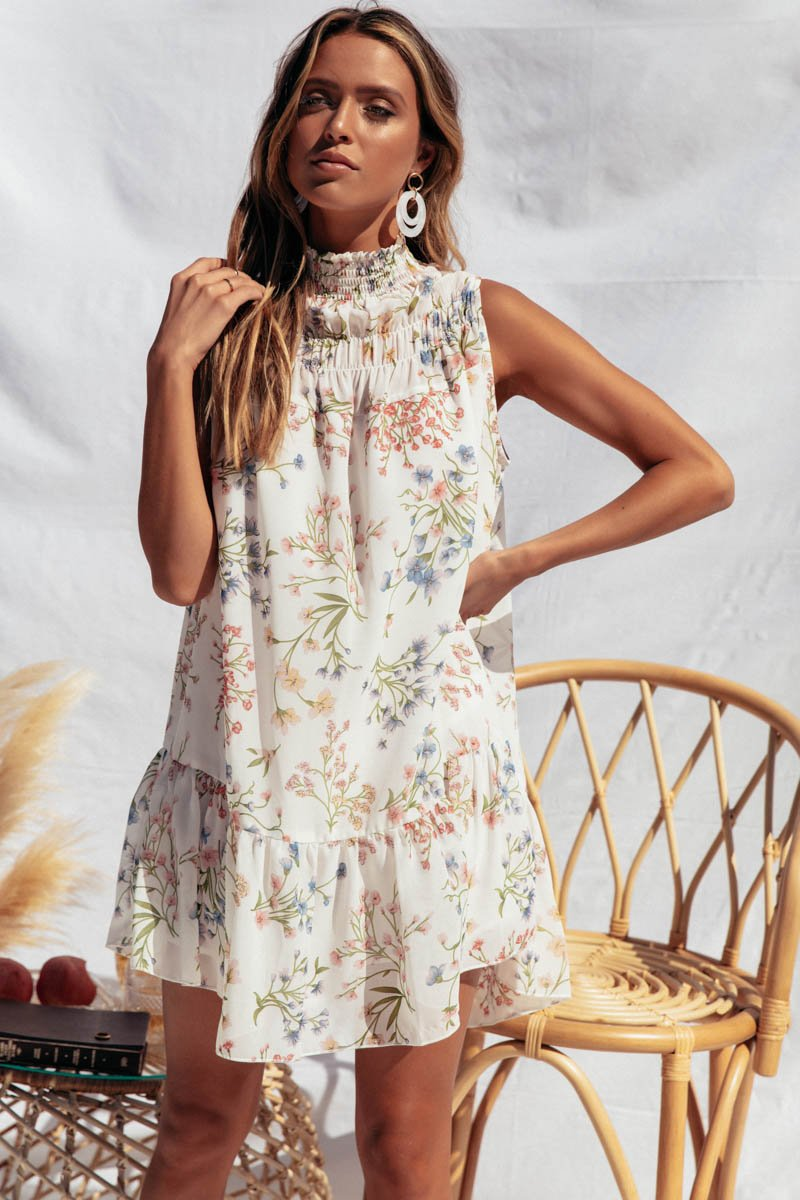 ROO DRESS - FLORAL PRINT