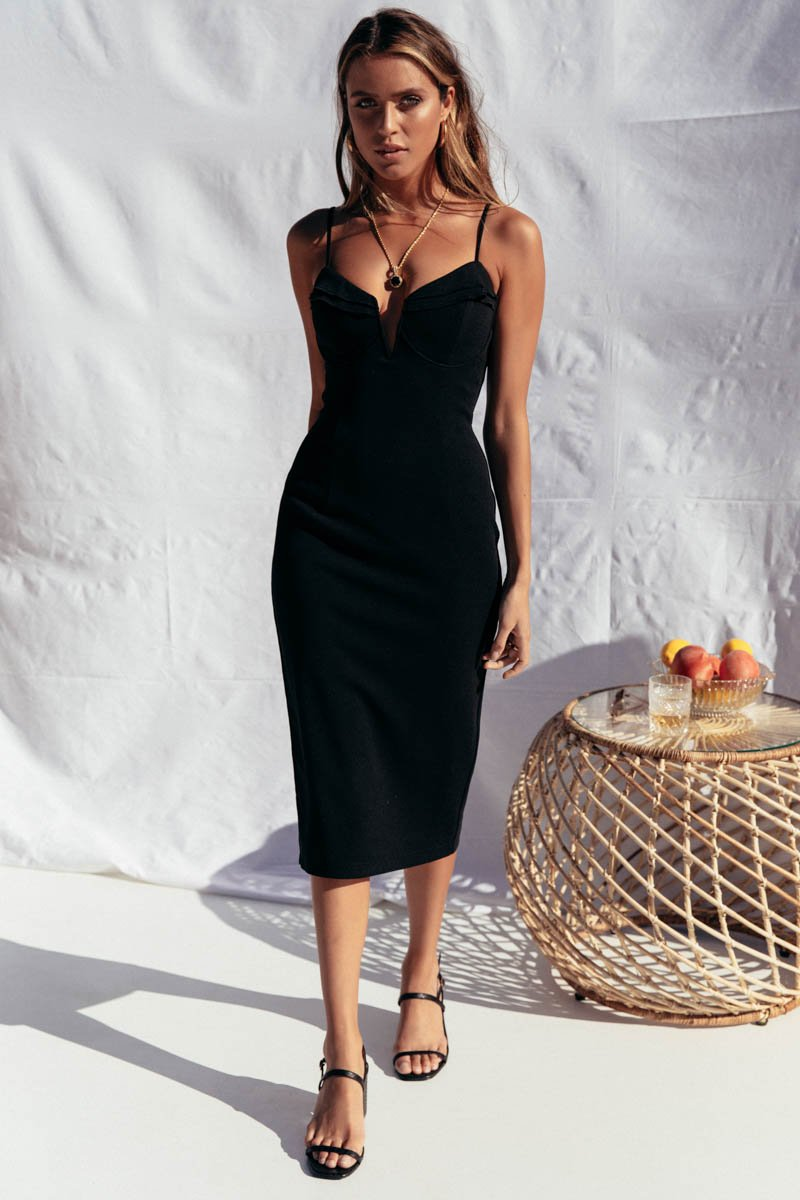 CALI DRESS - BLACK