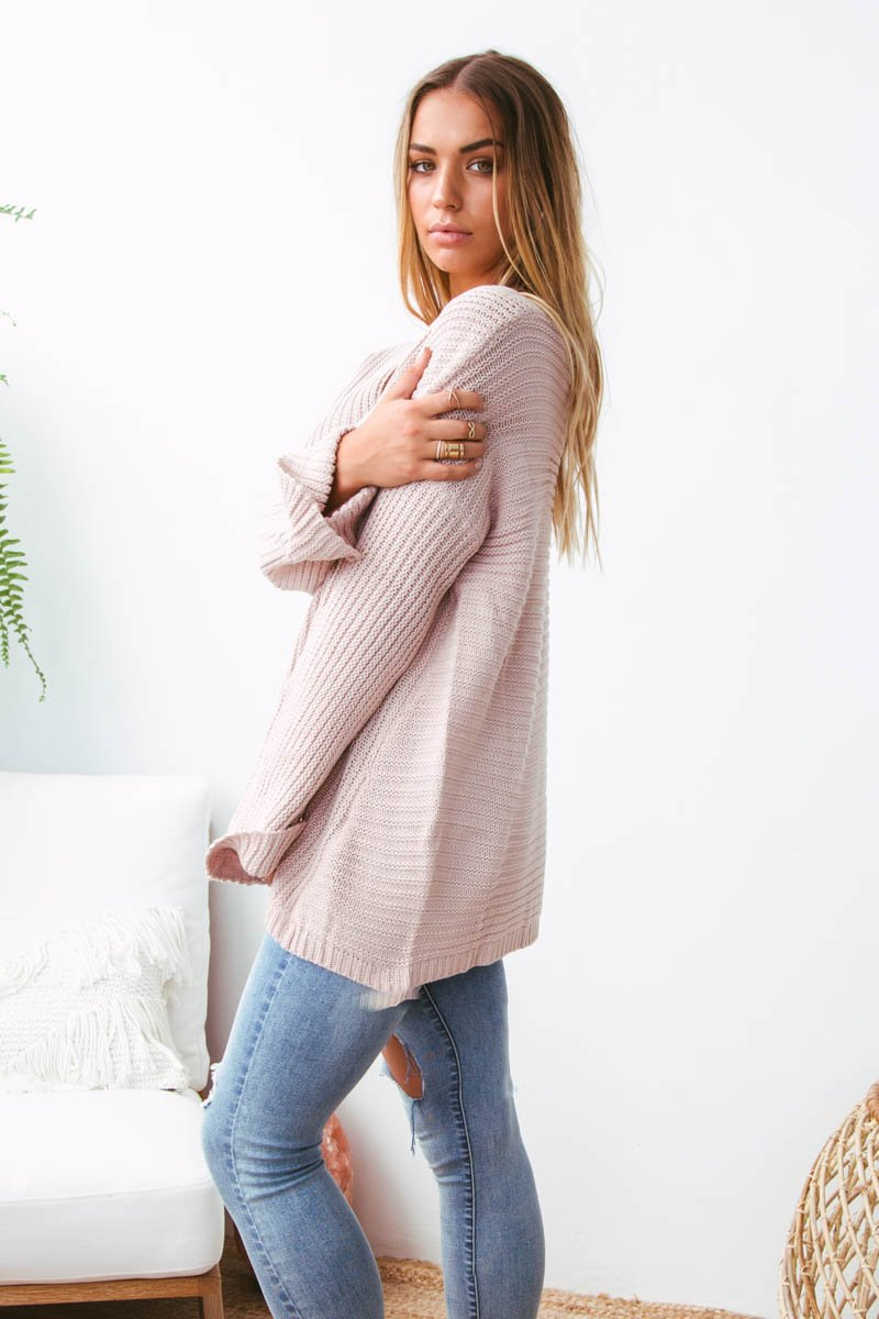 SIENNA KNIT - BLUSH