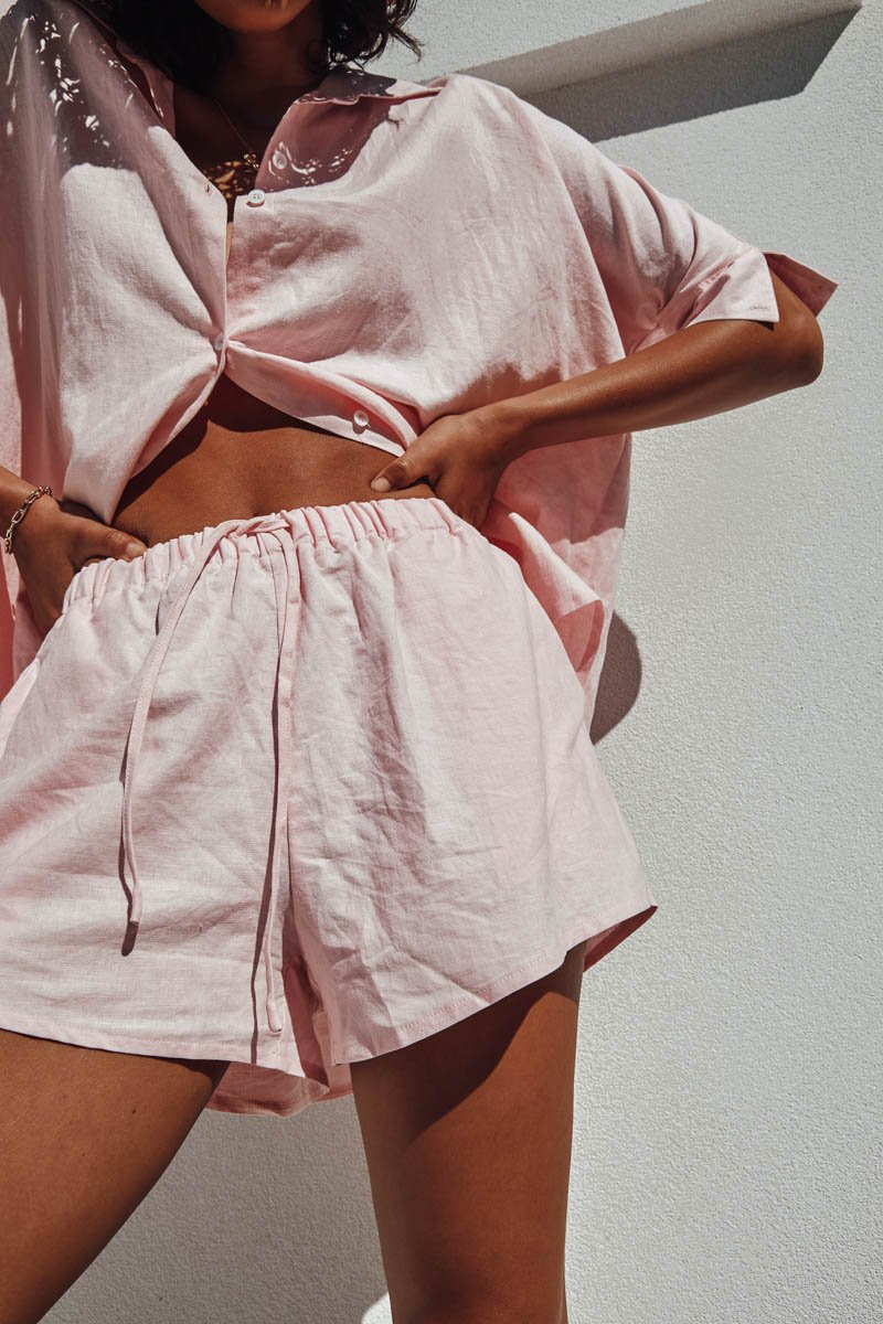 BELLA SHORT - BABY PINK