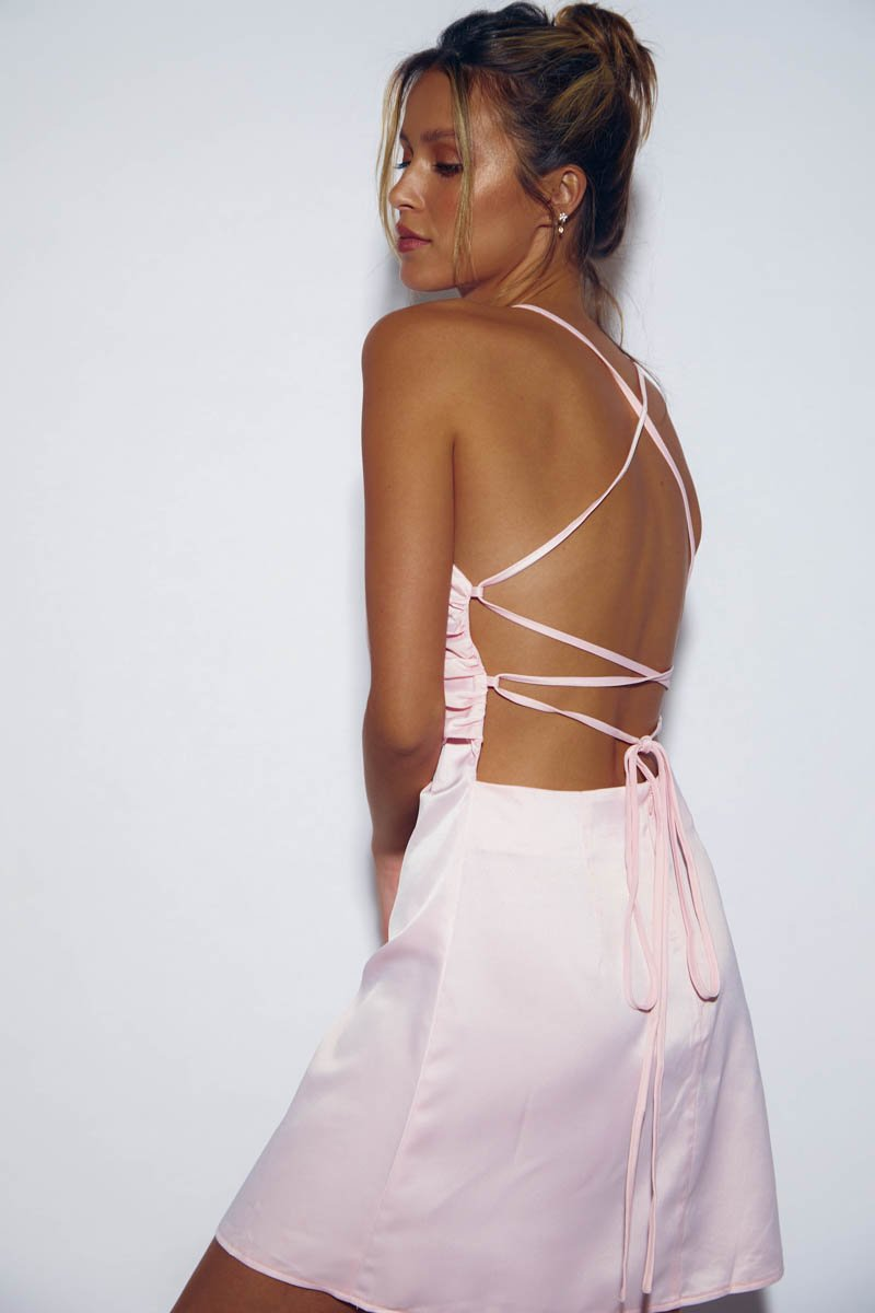 CABO DRESS BABY PINK
