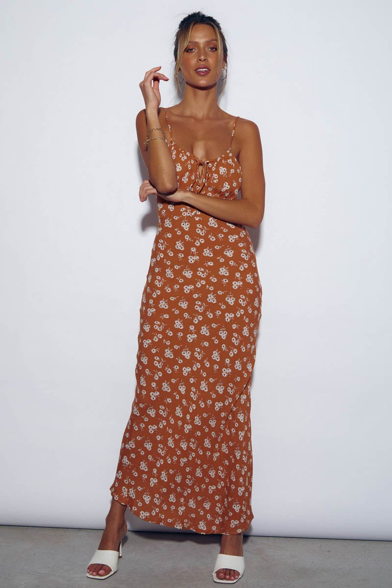 HONOLULU DRESS - AMBER DAISY - PRE ORDER