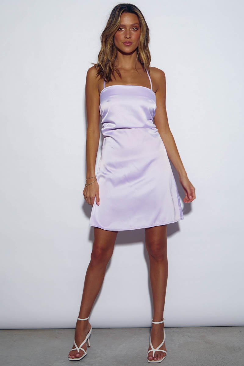 CABO DRESS LAVENDER