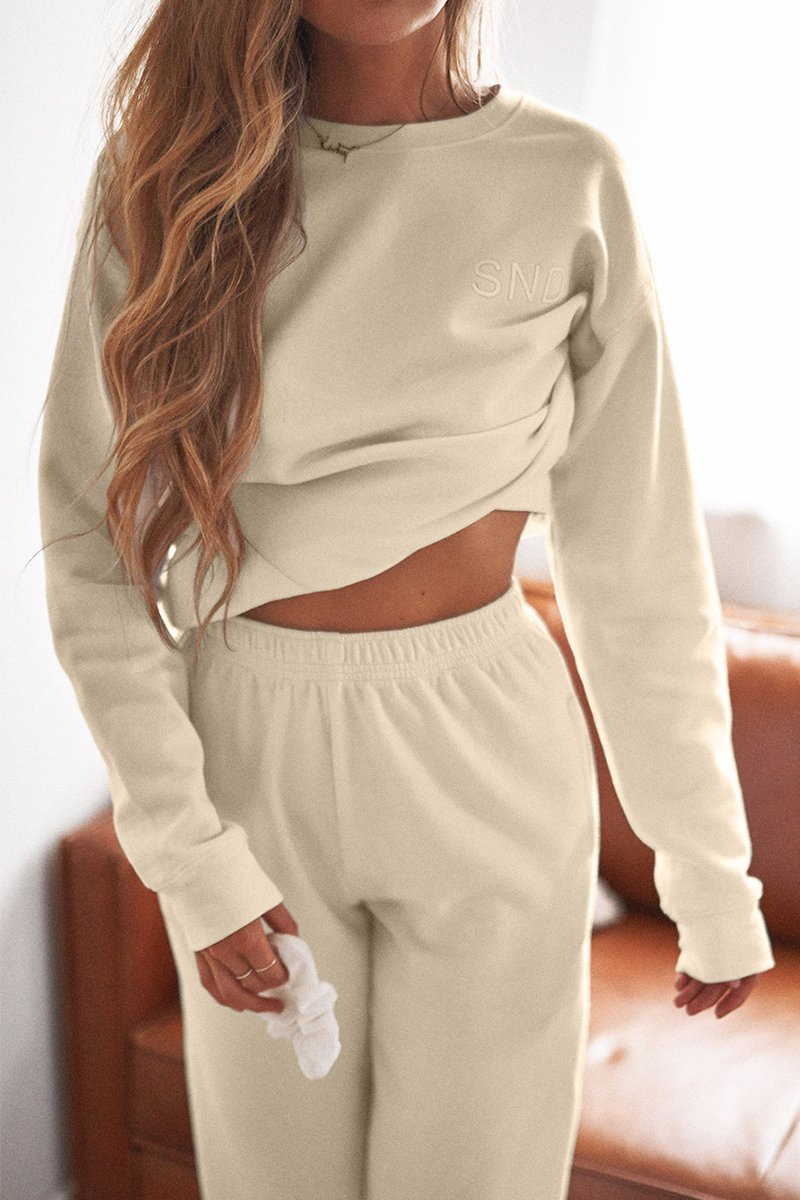 LUXE SWEATPANTS - SAND
