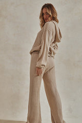HENDRIX KNIT PANTS - SAND