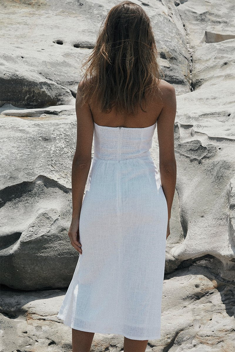 SERENA DRESS - WHITE - PREORDER