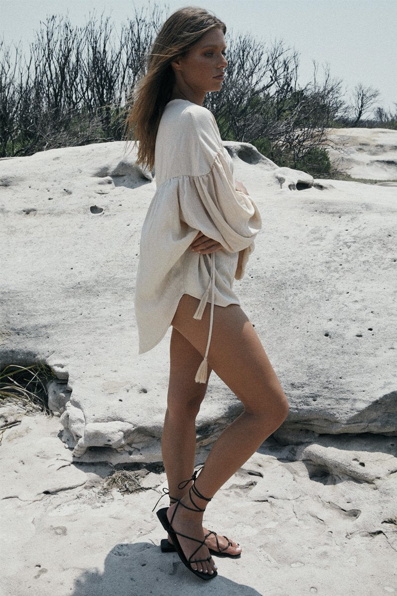 SIA TOP - SAND - PREORDER