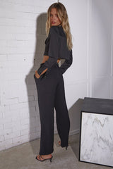 TIANI TROUSERS - BLACK