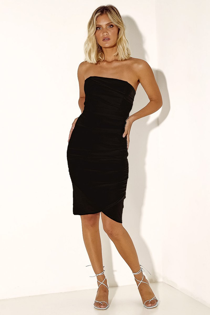TEX DRESS - BLACK