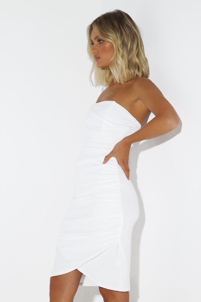 TEX DRESS - WHITE