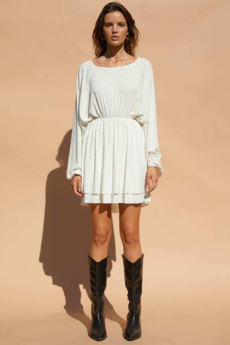 WAND DRESS - WHITE