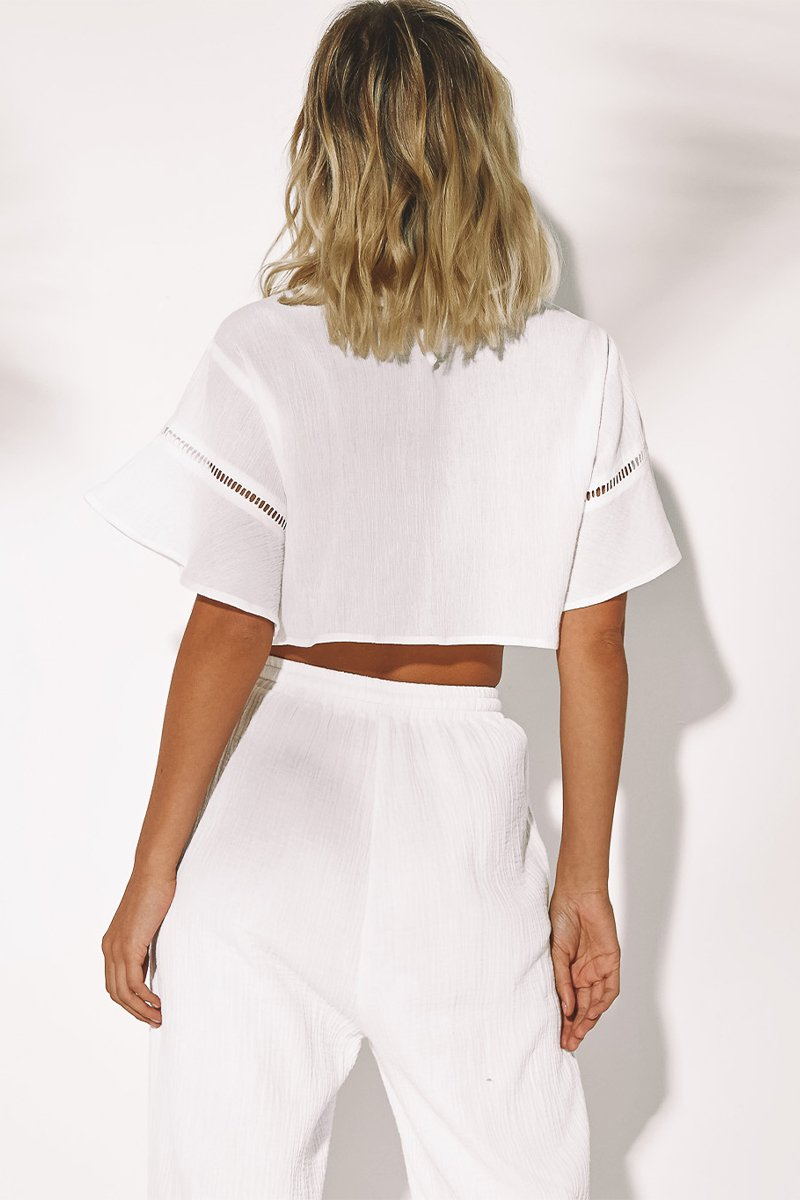 WING TOP - WHITE