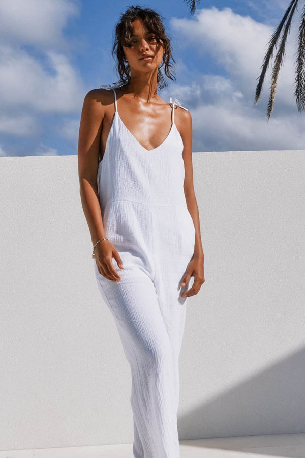 FORREST JUMPSUIT - WHITE