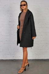 COVE COAT - BLACK