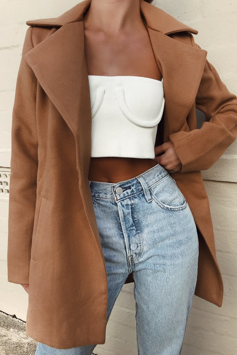 HARLEM COAT SHORT CAMEL