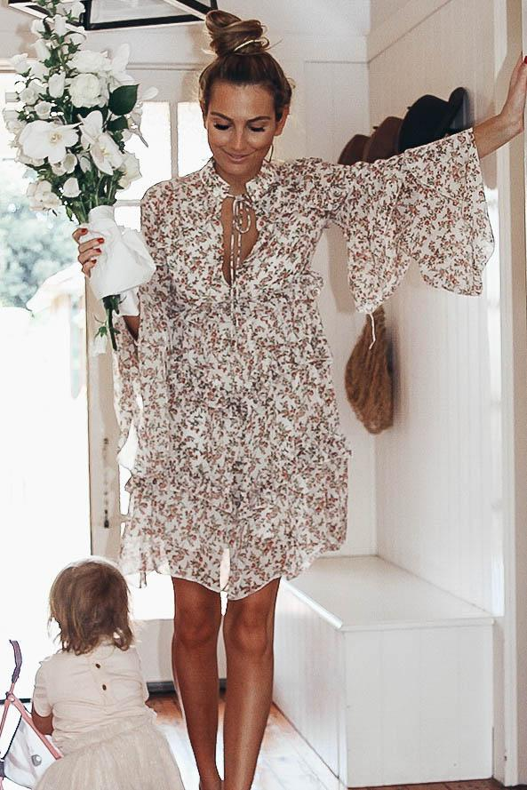 PENNY DRESS - FLORAL PRINT