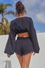 RIVER SHORTS - BLACK
