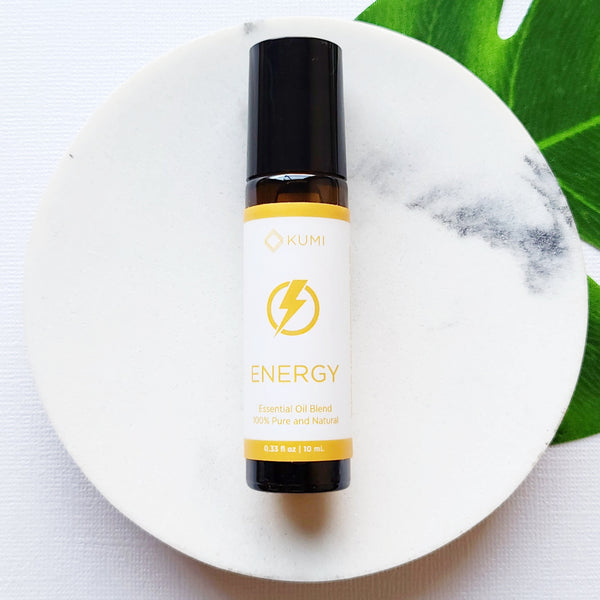 Energy Essential Oil Roll On - Kumi Oils