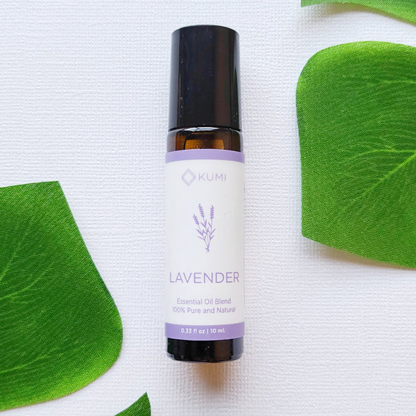 Lavender Essential Oil Roll On - Kumi Oils