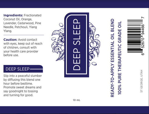 Deep Sleep Essential Oil Roll On - Kumi Oils