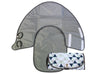 3-in-1 Clean Hands Changing Pad with Matching Pacifier Pod, Triangle - SnoofyBee.com
