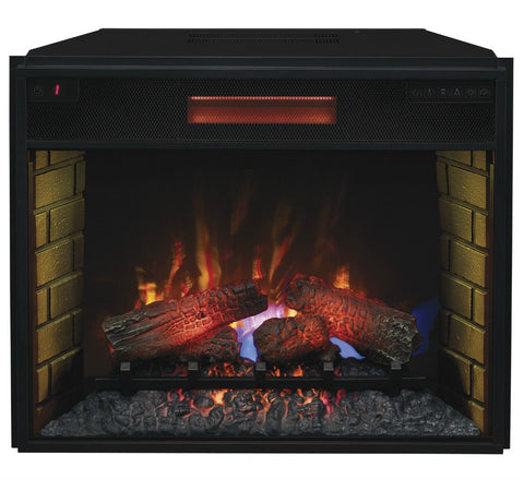 "The Modern Fireplace - ClassicFlame 28"" SpectraFire Plus Infrared Electric Fireplace Insert (28II300GRA)"