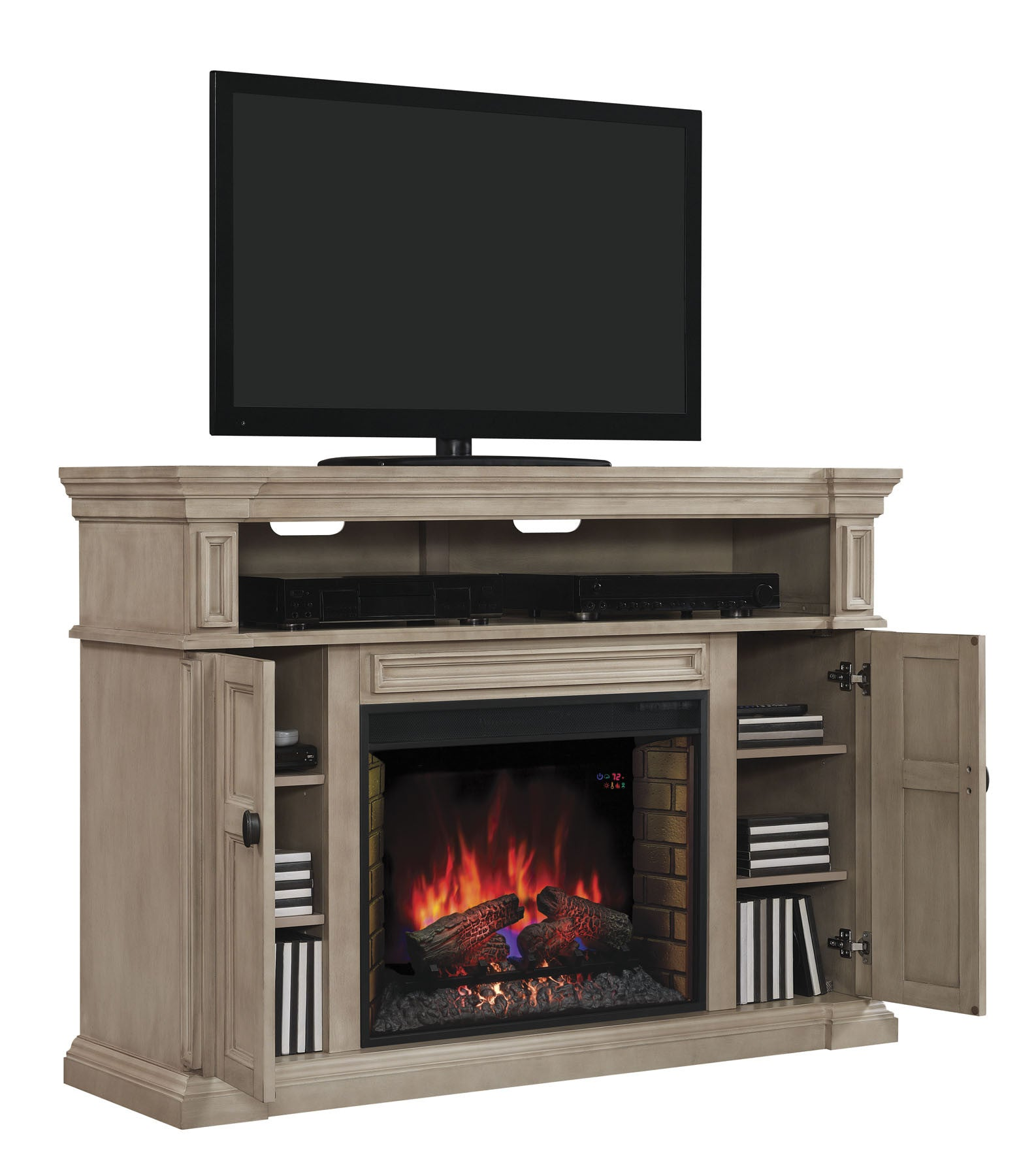 center buy novella with entertainment legends by znov fireplace console